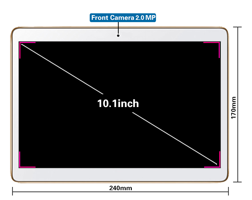 Android 8,0 смарт планшетный ПК s android tablet pc 10,1 дюйма 10 core MTK6797 планшетный компьютер Rom, 4 Гб оперативной памяти 32 Гб 64 Гб 1920X1200 8MP - 6