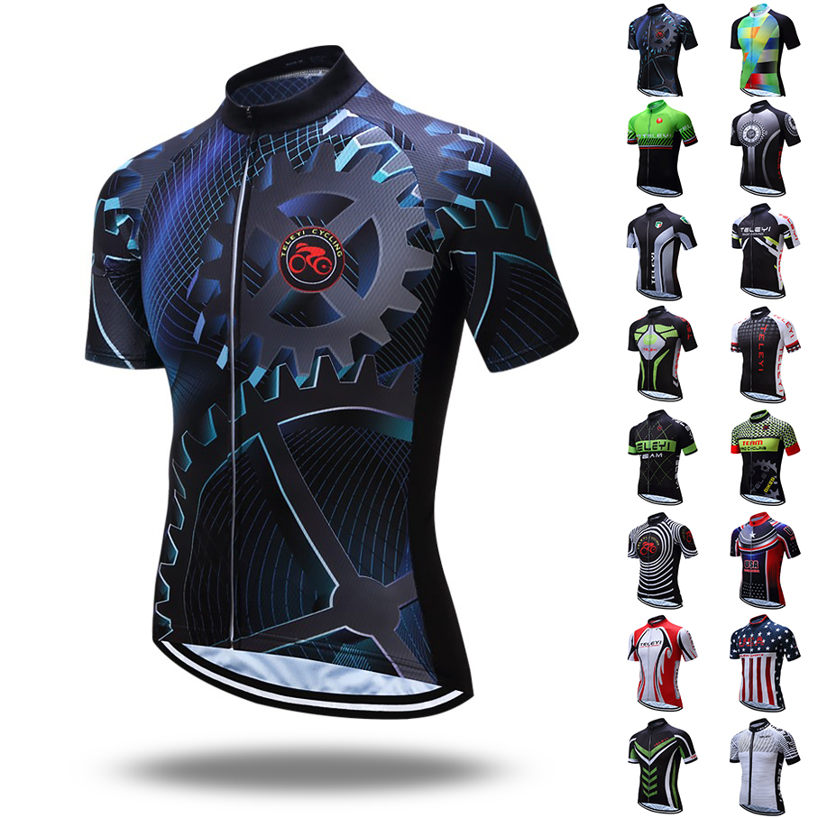 c35c4f4d2 loss promotion new Top quality TELEYI Pro Team Cycling Jersey Maillot Ropa  Ciclismo mtb Bicycle Cycling
