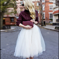Женщины Девушки 6 Слой Тюля Юбка Взрослых Чистая Юбка Туту Бальное платье Фигурист Юбки Женские Белый Цвет Элегантный Saia Faldas юп