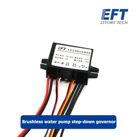 EFT 12S brushless water pump step down governor high pressure version disconnect liquid detection