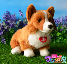 Short-Legged Dog Plush Toys For Children Corgi Doll Good Quality  Simulation Stuffed Animal  Gifts