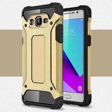 Case For Samsung Galaxy J2 Prime ! Soft Silicon +PC Hard Armor Anti-knock Back Cover Case For Samsung Galaxy J2 Prime смартфон samsung galaxy j2 prime sm g532f золотой