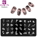 KADS Hot Animals Design nail art stamp stamping template plates spider & snake & butterfly stamp for nail art