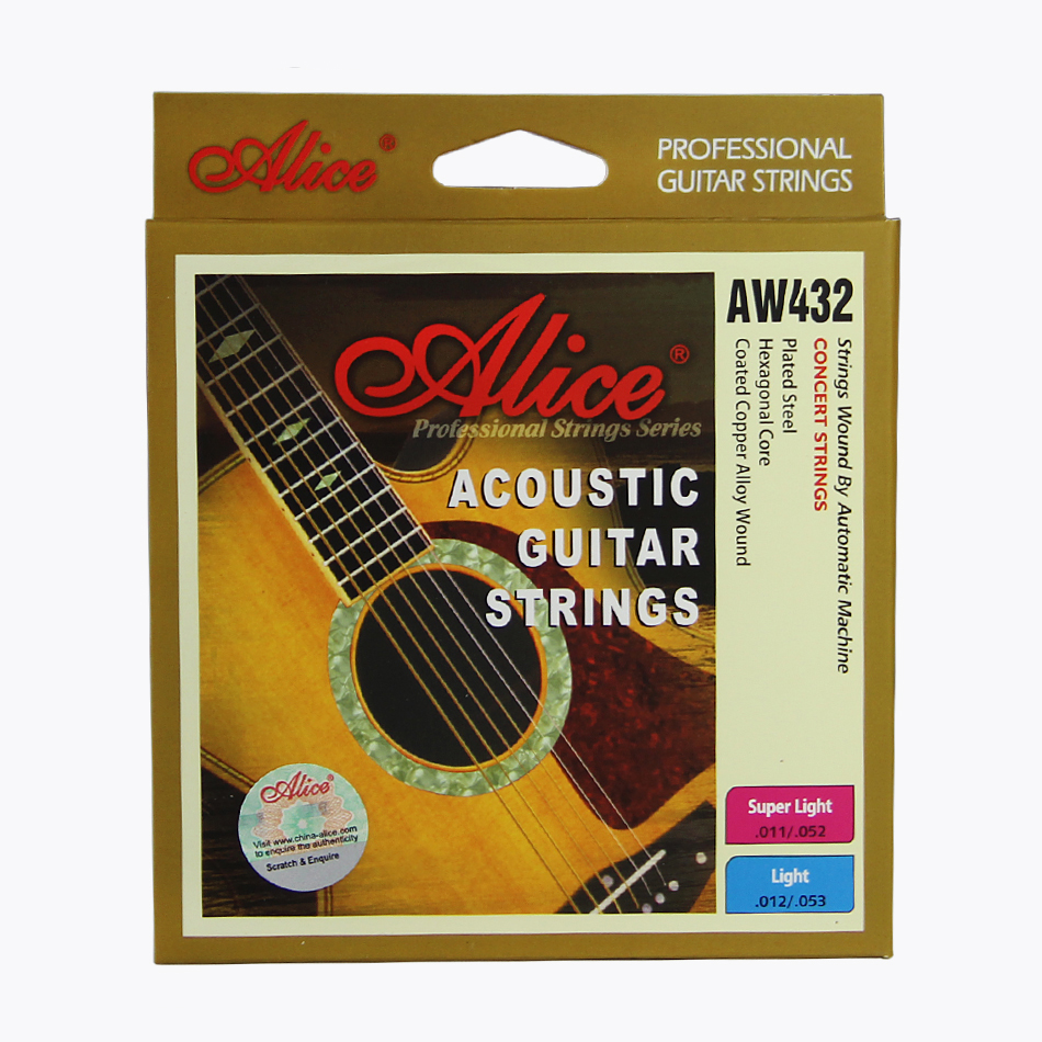 buy alice acoustic guitar strings aw432 professional guitar strings guitar. Black Bedroom Furniture Sets. Home Design Ideas