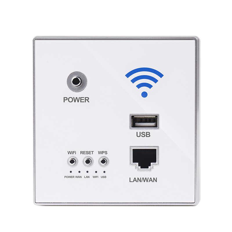 KEKA 300 Мбит/с 220 В мощность AP реле умный беспроводной wifi ретранслятор удлинитель настенный Встроенный 2,4 ГГц маршрутизатор Панель RJ45 сетевой разъем usb