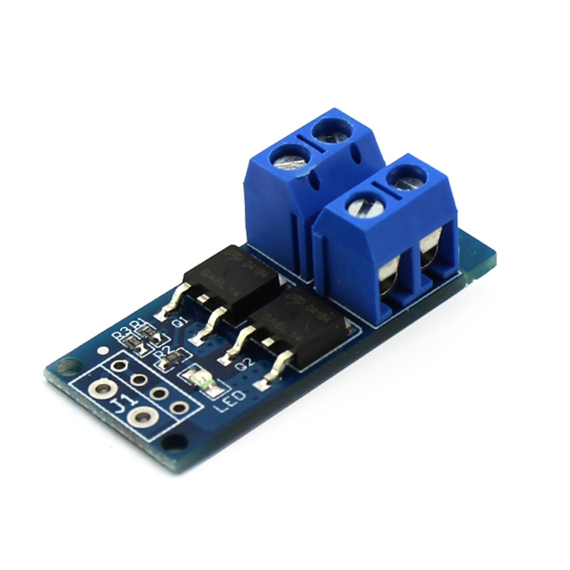 Elecrow High Power MOSFET Trigger Switch Drive Module PWM Regulating Electronic Switch Control Panel DIY Kit