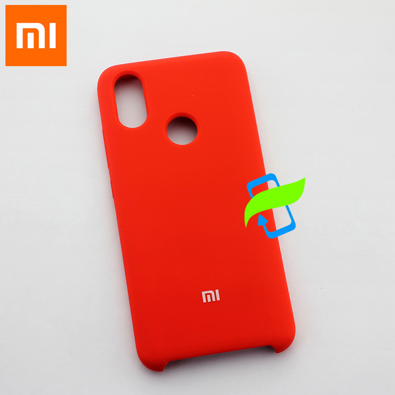 Image 4 - Xiaomi Mi8 Case Soft Liquid Silicone Protector Case For XIAOMI Mi 8 Lite Note 7 Pro MIX3 PocoPhone F1 Liquid Silicon Back Cover-in Fitted Cases from Cellphones & Telecommunications
