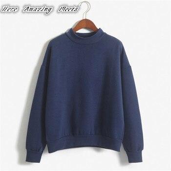 Here Amazing Folding Hot Sell Women Hoodies Casual Hoodies Coat Outfit Tops Sombrero camisa Wei худи xxxtentacion