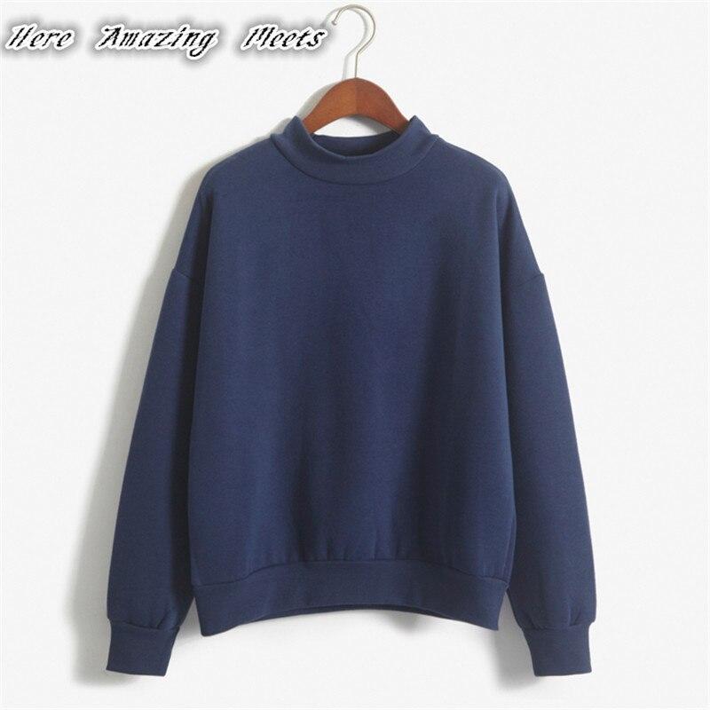 Hier Erstaunliche Erfüllt Folding 2018 Heißer Verkauf Frauen Hoodies Beiläufige Hoodies Mantel Outfit Tops Oansatz Sombrero camisa Wei Sweatshirts Y9