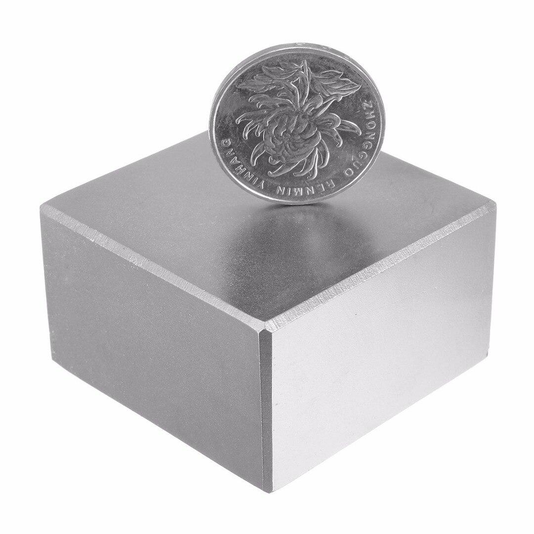 1pc Mayitr Rare Earth Fridge Magnets N52 Super Strong Big Square Block Neodymium Magnet 48*48*28mm for DIY Projects 1pcs 60x40x3 60mm 40mm 3mm magnets block neodymium n50 rare earth super strong fridge magnet 60 40 3 60mm x 40mm x 3mm