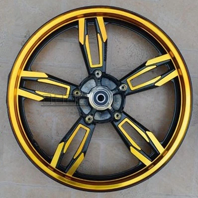 Delightful The New Front And Rear Wheel Rims 17 Inch Domestic Sports Car
