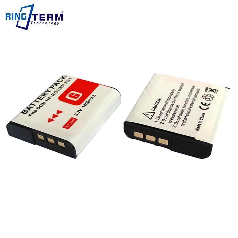 Bateria para Sony dsc-w210 dsc-w215 dsc-w220 np-bg1 np-fg1
