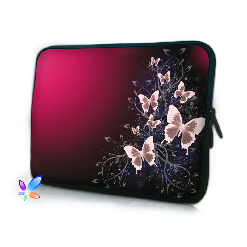 2016 Butterfly Computer Bag Notebook PC Smart Cover For ipad MacBook waterproof Sleeve Case 7 10 12 13 14 15 17 inch Laptop Bag