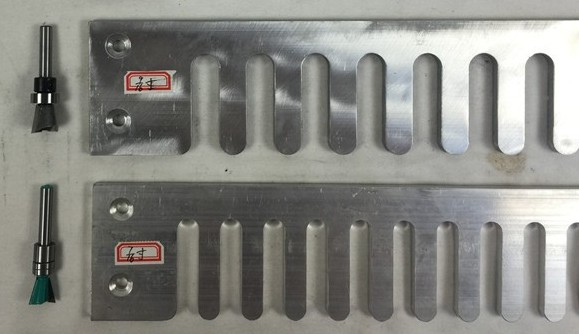 """2 Aluminium Jig Template & 2 Bit Cutter For 24 Inch Wood Dovetail Jig Jointer 7/16"""" And 9/16"""""""