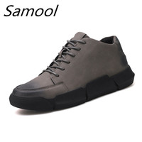 US Top Men Loafers High Quality Soft Leather Shoes Lazy Mens Slip On Driving Casual Shoes