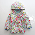 girls pink pig jacket kdis spring coat casual long sleeve hooded clothes
