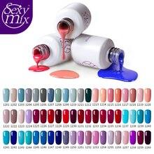 sexy mix 60 color soak off UV Nail Gel Polish long lasting salon gel nail varnish manicuer 3d nail art design Painting lacquer