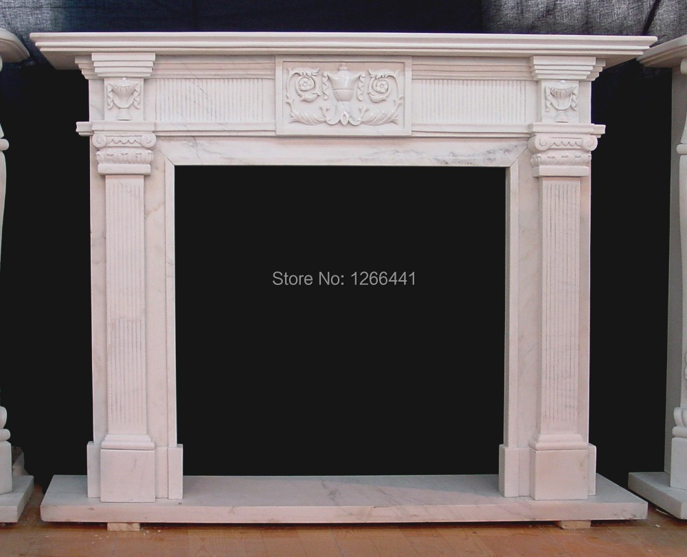 Fireplace Mantel Parts Us 1150 Stone Marble Fireplace Mantel European Ancient Rome Style Custom Made In Fireplace Parts From Home Improvement On Aliexpress Alibaba
