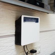 Беспроводной Wi-Fi маршрутизатор коробка для хранения Пластиковая полка настенный кронштейн для хранения кабеля 2 цвета домашний декор