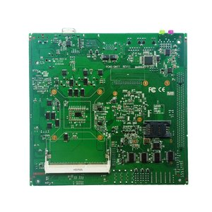 Image 4 - original factory Fanless with 6*COM & 6*USB Mini ITX industrial Motherboard support intel core i3 i5 i7 CPU embedded motherboard