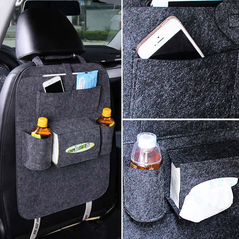 Car Seat Bags Shopping Cart Automobile Accessories Car Styling Hanging Bags Baby Shopping Cart Cover Car Seats Back Seat Pockets