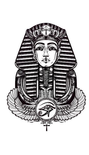 Pharao tattoo