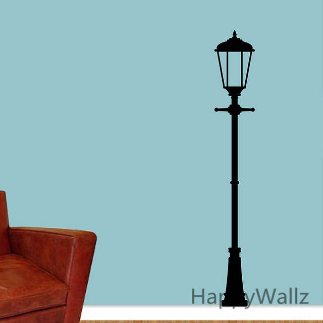 Street Lamp Wall Sticker Lamp Wall Decal DIY Decorating Modern Wall Decors  Removable Wall Decals M4