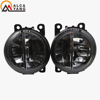 Malcayang For Mitsubishi OUTLANDER 2 PAJERO 4 L200 Grandis 2003 2016 Car Styling LED Fog Lamps10W