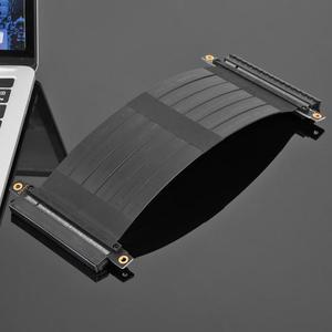 Image 2 - VODOOL High speed Flexible kabel PCI Express 36Pin Gen3 16X Buchse auf Buchse Verlängerung Kabel mit Stecker für 1U, 2U chassis