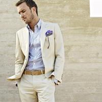 2017 Latest Coat Pant Designs White Wedding Suits For Men Classic Skinny Custom Made Groomsen Tuxedo
