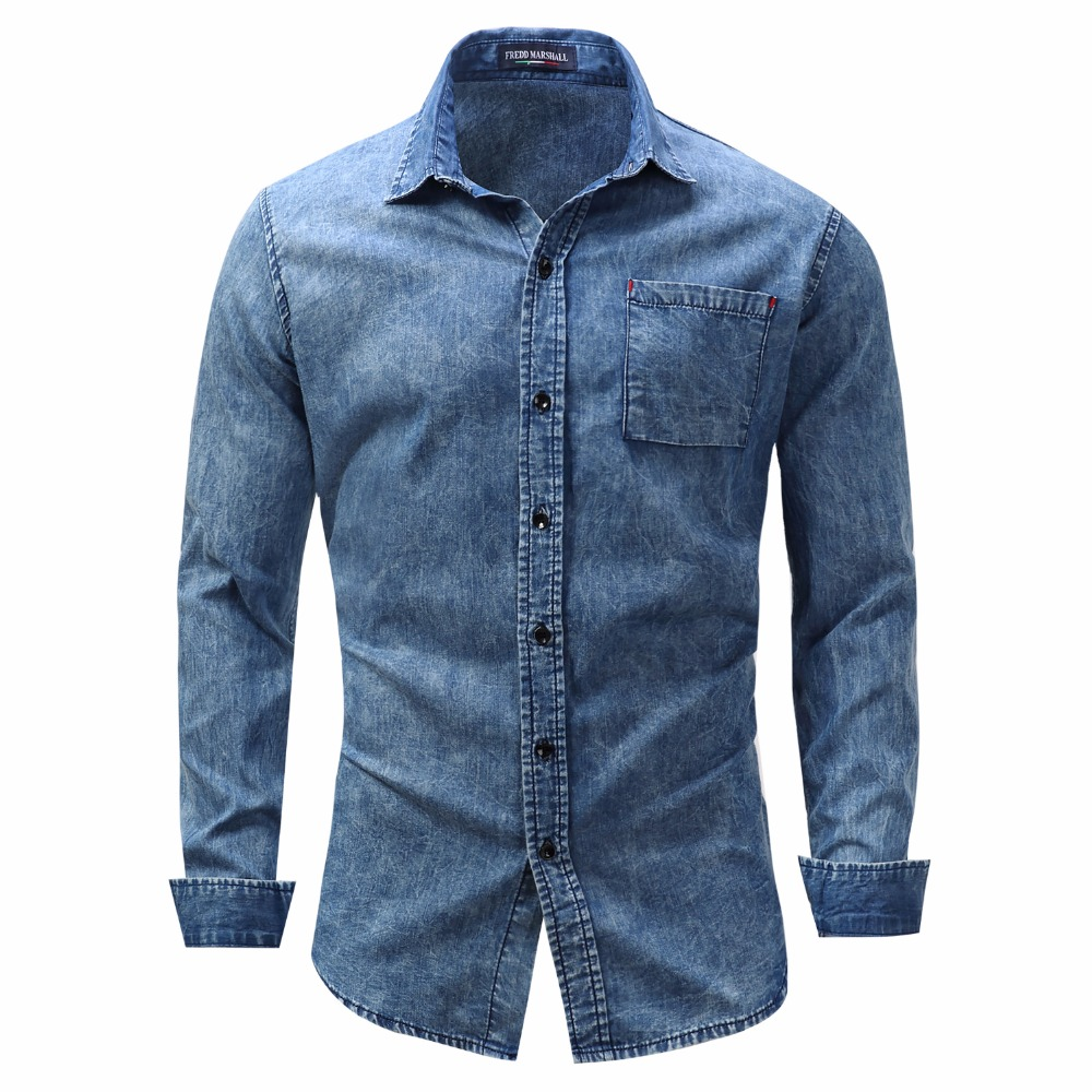 New Arrival Men's shirt Long Sleeve Shirt Mens Dress Shirts Brand Casual Fashion Business Style Shirts 100% Cotton