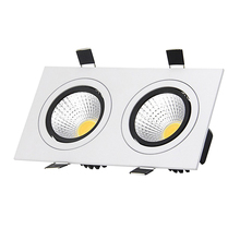 LED Recessed Ceiling Downlight Square Dimmable LED