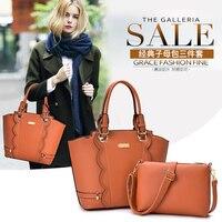YILIAN women's bag new fashion handbag cross body bag buy one get two free bags