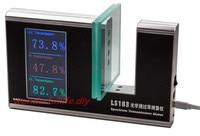 Gloednieuwe Spectrum Transmission Meter Tester Piek golflengte UV 365nm VL 380nm-760nm (Volledige Gewogen Spectrum) IR 940nm