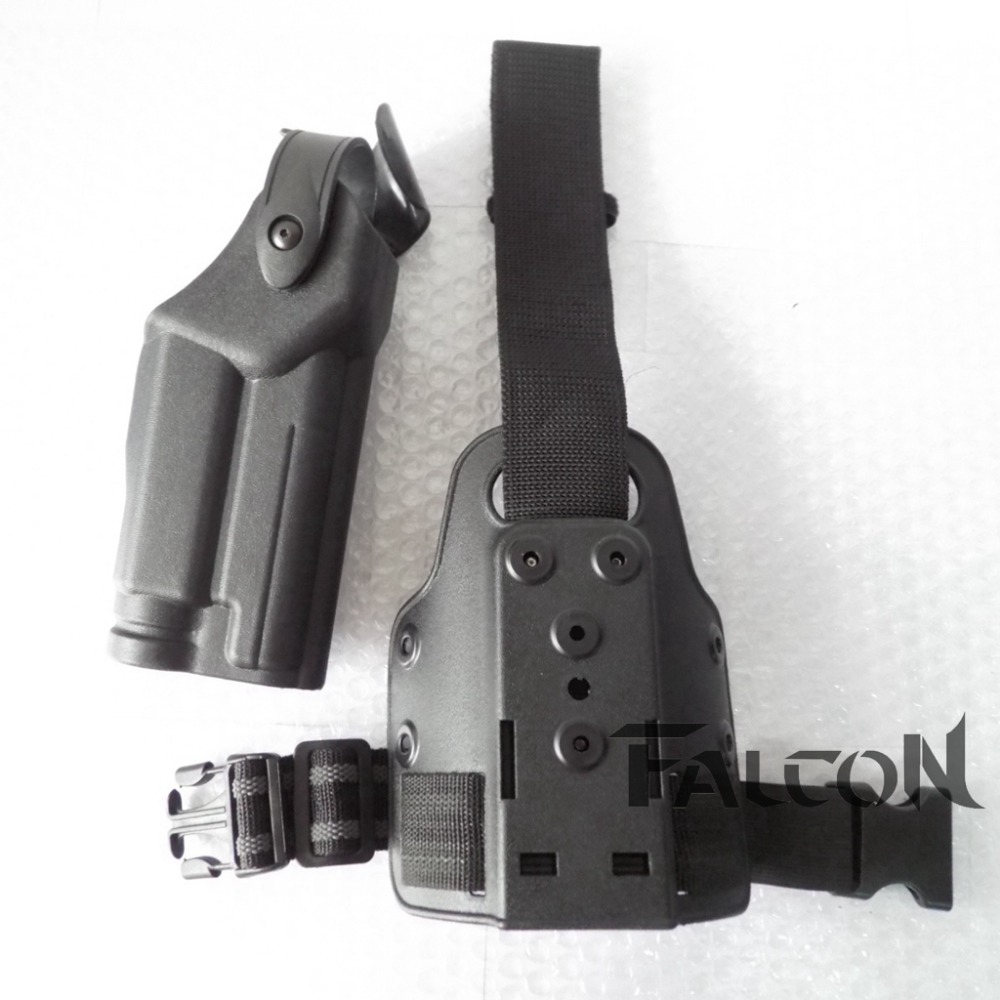 ФОТО Safariland Tactical Black Polymer Right Handed Waist Paddle Belt Holster for Pistol SIG Sauer 220/228/229 P226