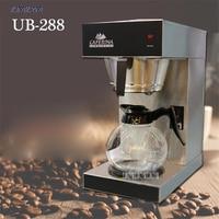 UB-288 American coffee machine commercial semi-automatic drip tea making machine glass Hourglass American Coffee 12*2 cup 1900W