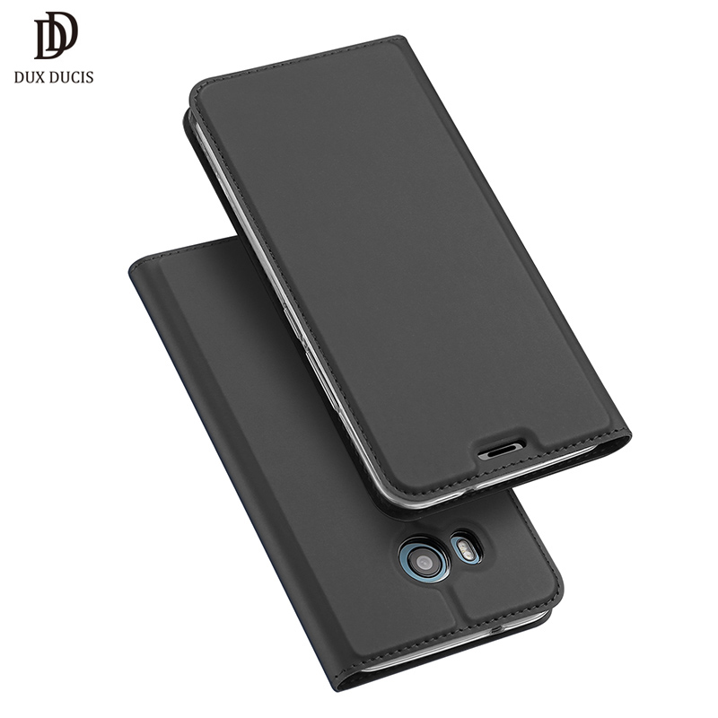 DUX DUCIS PU Leather Case For HTC U11 Flip Cover Wallet Phone Cases For HTC U11 U 11 Dual Sim Full Protection Cover New