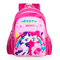 2017 new children cartoon my little pony schoolbag girl lovely backpack schoolbag For children children Christmas gift bags888