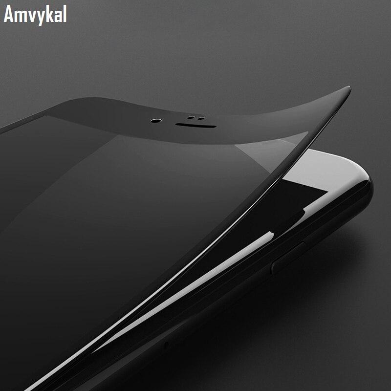 imágenes para Para iphone 7 6 iphone7 s plus vidrio templado protector de pantalla 3d curva de La Cubierta Completa Borde de Arco Suave A Prueba de Explosiones Película 100 unids/lote