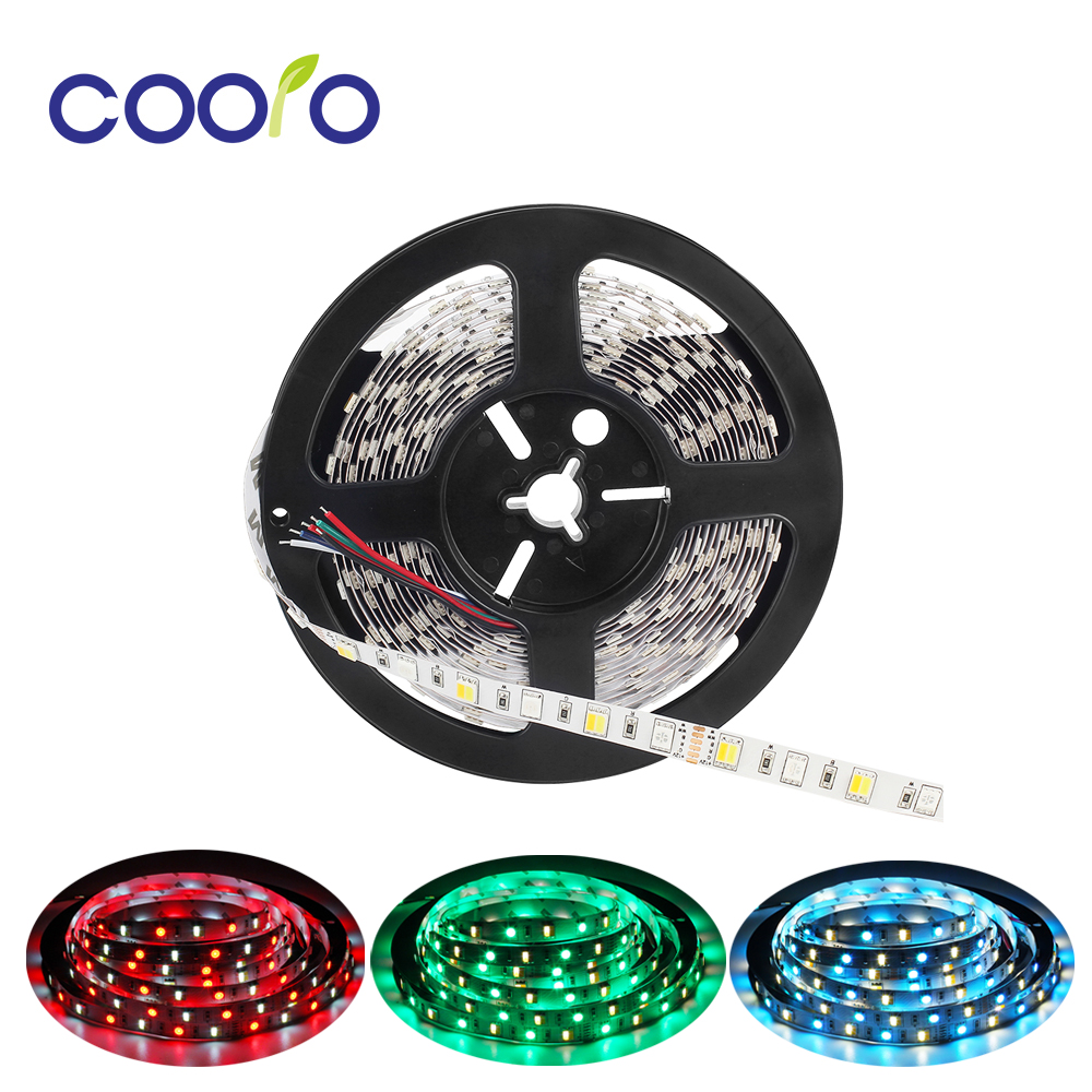 5M <font><b>LED</b></font> Strip Light RGB CCT 5050 SMD <font><b>Led</b></font> Tape Non waterproof <font><b>Led</b></font> <font><b>Stripe</b></font> Light Decoration Lights 12V <font><b>24V</b></font> image
