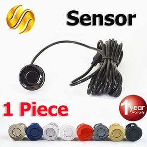 Car Parking Sensor Black Red Blue Silver Gold White Gray Champagne Gold Color for 22mm Sensor Kit Monitor Reverse System