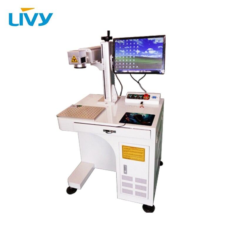 Gravure laser de machine de marquage laser de fibre de 20 W 30 W 50 W, micro coupe, machine de marquage laser
