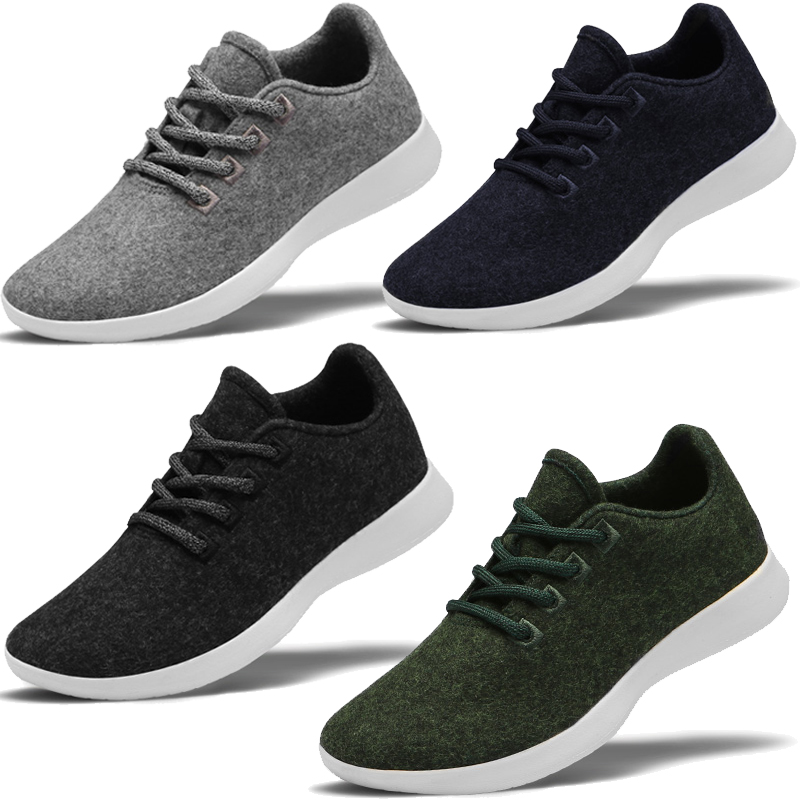 Premium Paperplanes Lace Up Natural Wool Light Weight Breathable Shoes Sneakers-PP1501Premium Paperplanes Lace Up Natural Wool Light Weight Breathable Shoes Sneakers-PP1501