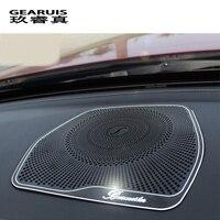 Car Styling Audio Speaker For Mercedes Benz W205 GLC C Class C180 C200 Dashboard Loudspeaker Cover