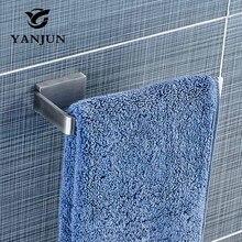 YANJUN настенное матовое полотенце из нержавеющей стали квадратный Держатель для полотенца полотенце бар аксессуары для ванной комнаты для дома YJ-81954