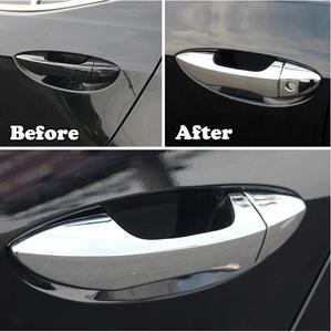 Image 4 - 8pcs ABS Chrome Door Handle Cover Outer Sticker Exterior decoration For Toyota Corolla 2014 2015 2016 2017 Altis Chrome XG 002