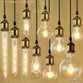 4 W E27 220 V Para A Decoração LEVOU Bombilla Lampada Edison Lâmpada lâmpada ST64 Luz T10 Ampolas Decorativas G80 G95 Vintage T225 T30