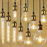 4 W E27 220 V pour décor LED Bombilla Lampada Edison lampe ampoule lumière Vintage Ampoules décoratives T10 G80 G95 ST64 T225 T30
