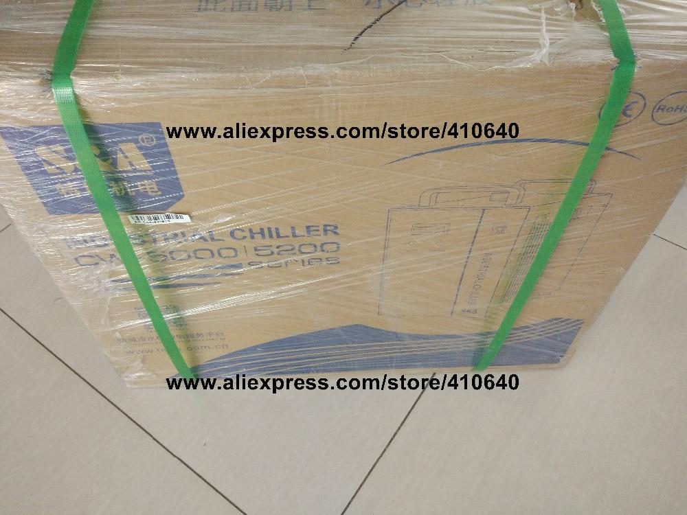Купить с кэшбэком CW-5300AH Industrial Chiller For Laser Machine 1800W cooling capacity LONGER LIFE TIME CW-5200 cooler for laser equipment