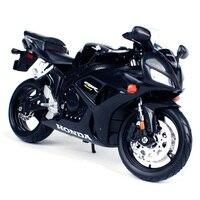 Maisto 1:12 CBR 1000 RR black motorcycle diecast for honda motorbike model present for kids motorcycle diecast for men 31151